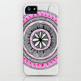 Mandala Creation #5 iPhone Case