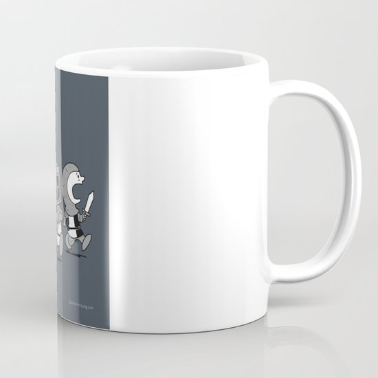 Run away! Run away!  Mug