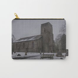 Dunkirk Church In Winter Carry-All Pouch