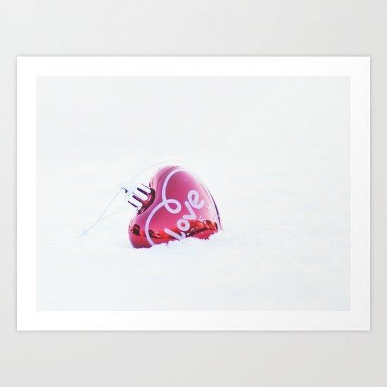 heart. Art Print