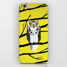 Great Owl iPhone Skin