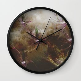 Dragon Flys Wall Clock