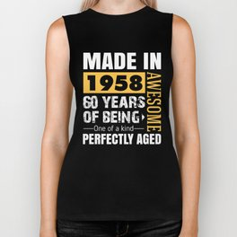 Made in 1958 - Perfectly aged Biker Tank