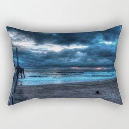 Approaching Storm Huntington Beach, alifornia Rectangular Pillow