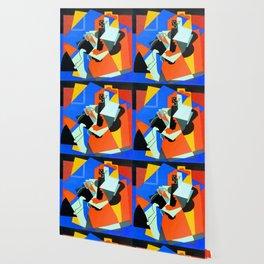 Albert Gleizes Woman and Child Wallpaper