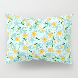 blooming daffodils Pillow Sham