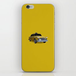Taxi Driver (Robert De Niro) New York cab illustration iPhone Skin