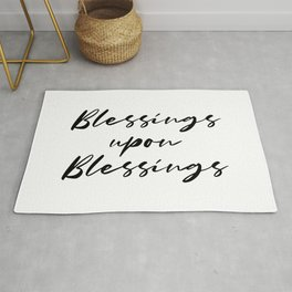 Blessings upon Blessings Rug
