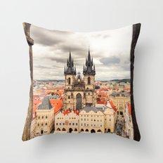 PRAGUE 3 Throw Pillow