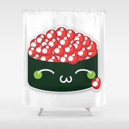 Happy Sushi Shower Curtain