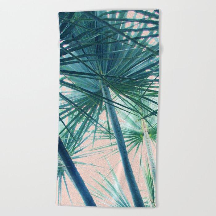 Tropical Palm #society6 #buyart #home #lifestyle Beach Towel