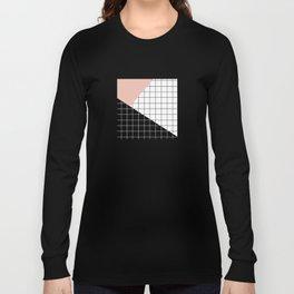 Minimal Geometry Long Sleeve T-shirt