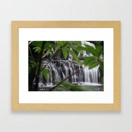 Purakaunui Falls Framed Art Print