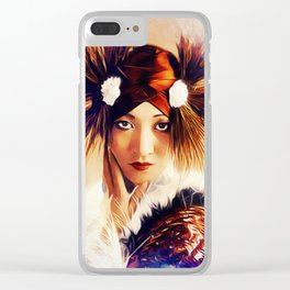 Anna May Wong, Actress Clear iPhone Case