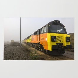 Class 70s in the Mist Rug