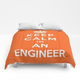 Keep Calm I'm An Engineer Comforters