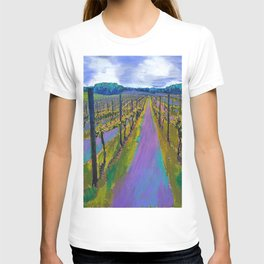 On The Michigan Wine Trail/Chateau De Leelanau T-shirt