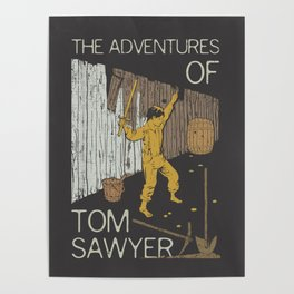Books Collection: Tom Sawyer Poster