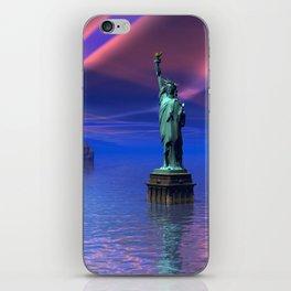 Freiheitsstatur iPhone Skin
