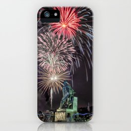 Fourth Of July Fireworks Gloucester iPhone Case