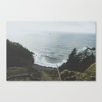 oregon Canvas Prints featuring Oregon by Luke Gram