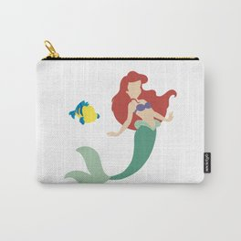 Ariel and Flounder Carry-All Pouch