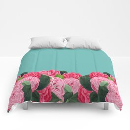 Floral & Turquoise Comforters