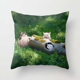 Their lög Throw Pillow