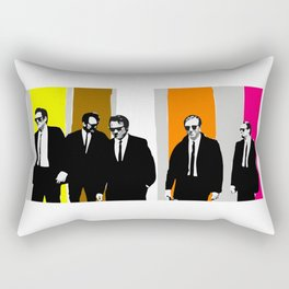 reservoir dogs, tarantino Rectangular Pillow