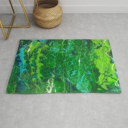 Abstract Earth Rug