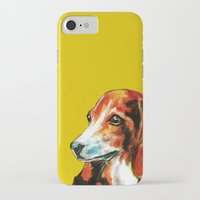 beagle iPhone & iPod Cases featuring Beagle by James Peart