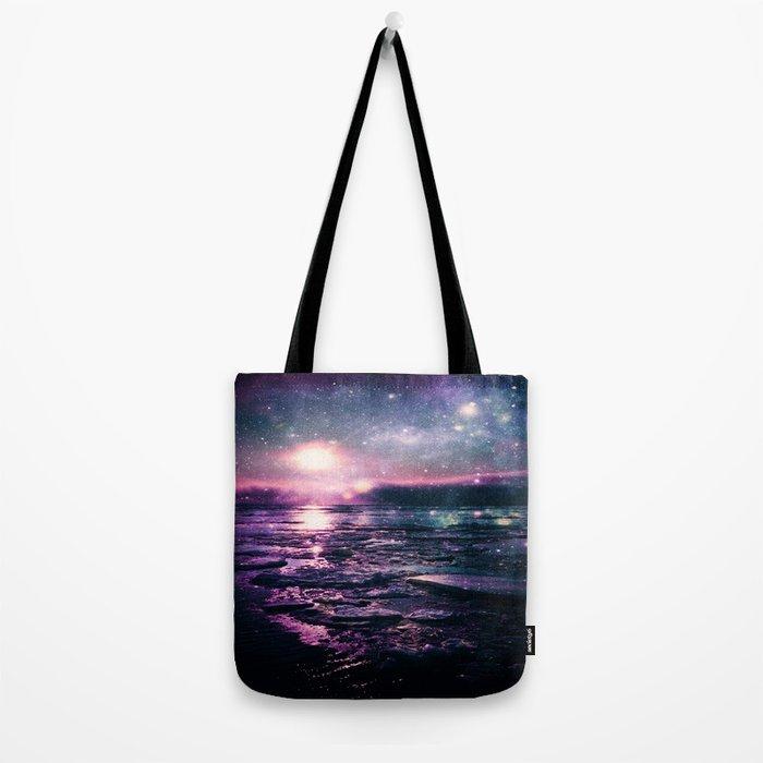 Mystic Waters Mermaid Gradient Tote Bag