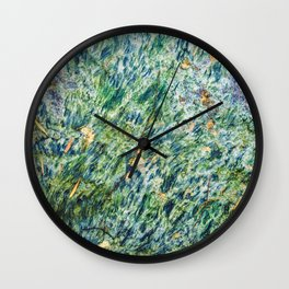 Ocean Life Abstract Wall Clock