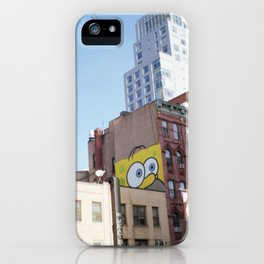 SpongeHomer x L.E.S. iPhone Case