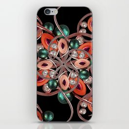 Luxury Collage Ornament New Noveau Artwork iPhone Skin