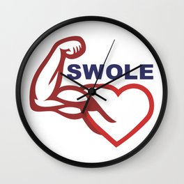 swole- Wall Clock