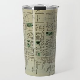 Map of Saint Andrews 1878 Travel Mug