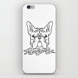Carlton's Big Squishy Face - Black Logo iPhone Skin