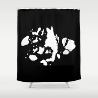jamaica Shower Curtains featuring Islands of Jamaica Bay by Brooklyn Cartografix