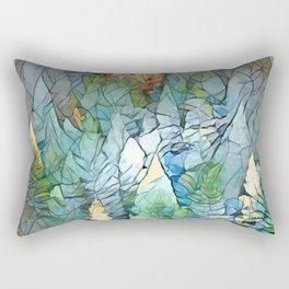 Mosaic Forest Rectangular Pillow
