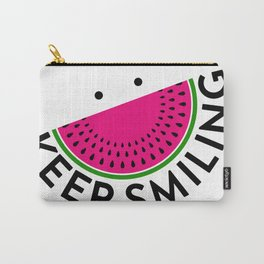 Keep smlng Carry-All Pouch