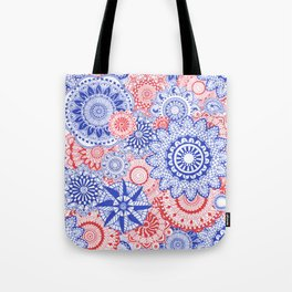 Celebration Mandala Tote Bag