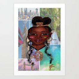 Daughter of the Diaspora Art Print