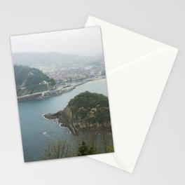 La Concha Beach, San Sebastian - Donostia-San, Spain II Stationery Cards