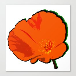 DBM California Poppy 3 Canvas Print