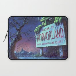 One Day at Horrorland Laptop Sleeve