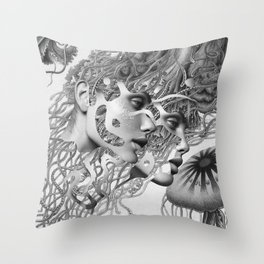 I Will Be There Once More Throw Pillow