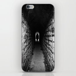 The Silhouette at the End of the Tunnel iPhone Skin