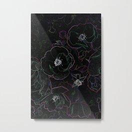 Outlines Metal Print