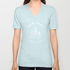 New York, New York Unisex V-Neck